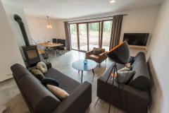 Apartmán H4 se dvěma ložnicemi a terasou