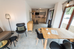 Mezonetový Apartmán G1 se dvěma ložnicemi a terasou